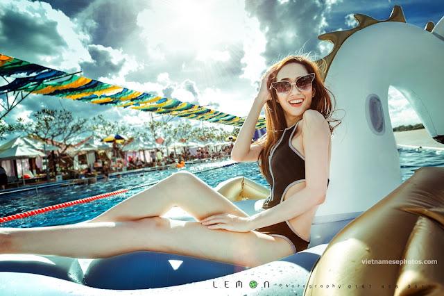Beautiful Vietnamese girl bikini vol 77 3