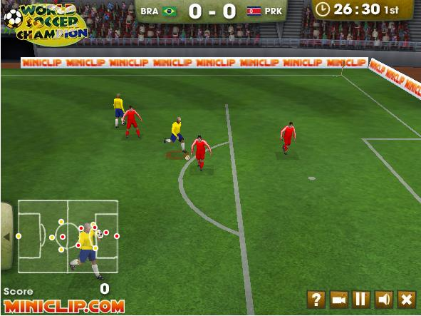 Futebol jogos online