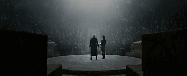 Винда Розие и Гриндълуолд във Фантастични животни: Престъпленията на Гринделвалд