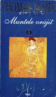 coperta carte Thomas Mann Muntele vrăjit