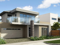 3D Front Elevation.com: Europe Modern House 3D Design