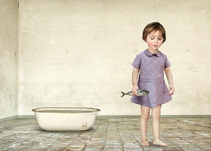 Портреты детей