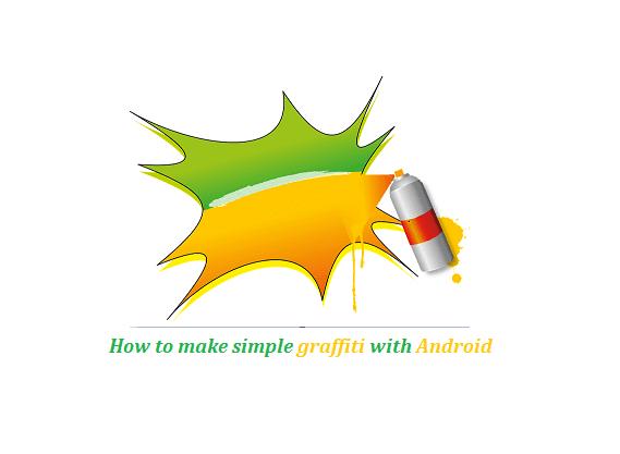 Cara buat graffiti Android