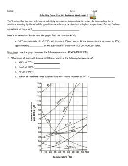 [DOC]Solubility Curve Practice Problems Worksheet 1 - solubility curve worksheet