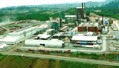 Pabrik kertas terbesar di dunia