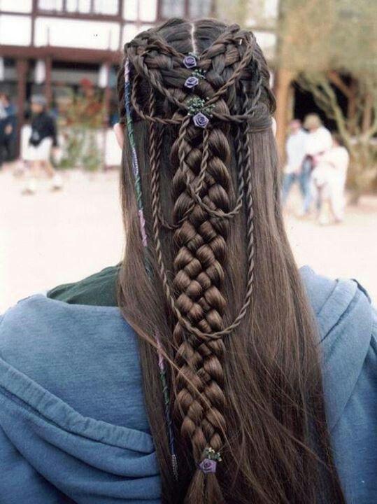 Celtic Bridal Hairstyles!