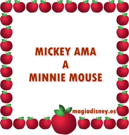 Mickey Ama a Minnie Mouse