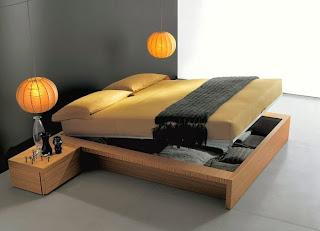 cama estilo moderno