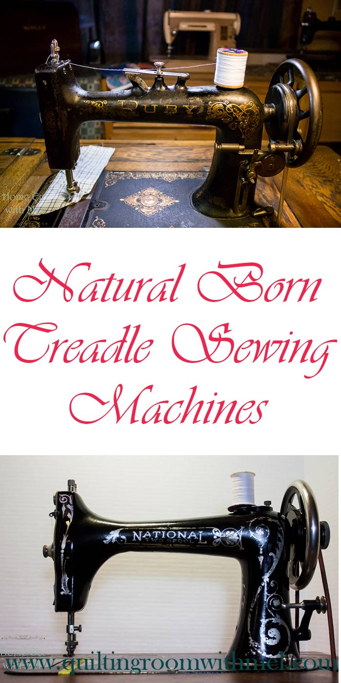 natural born treadle sewing machines