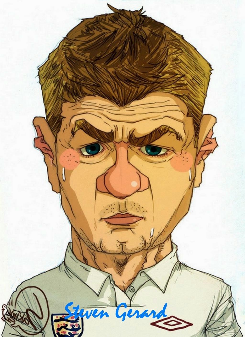 Top Gambar Kartun Pemain Bola Dunia Kolek Gambar