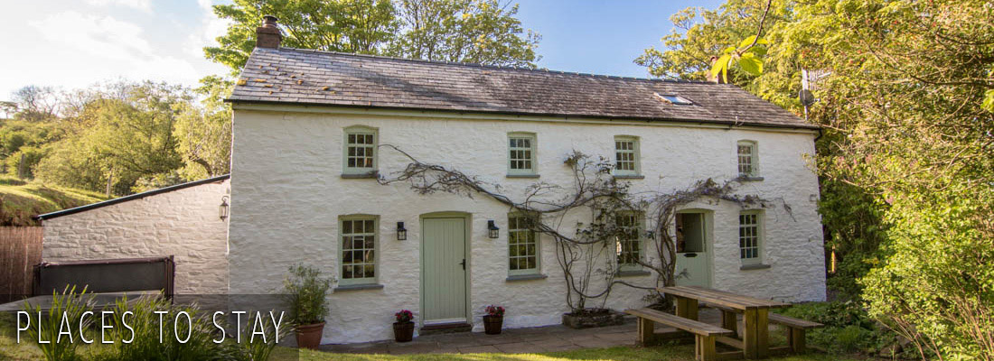 A list of places to stay in Wales