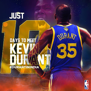 kevin-durant-india visit