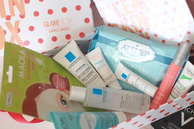 GlamBox Коробочка для проблемной кожи CLEAN SKIN BOX 2017 состав фото описание отзывы