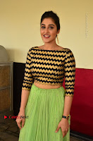 Actress Regina Candra Latest Pos in Green Long Skirt at Nakshatram Movie Teaser Launch  0147.JPG