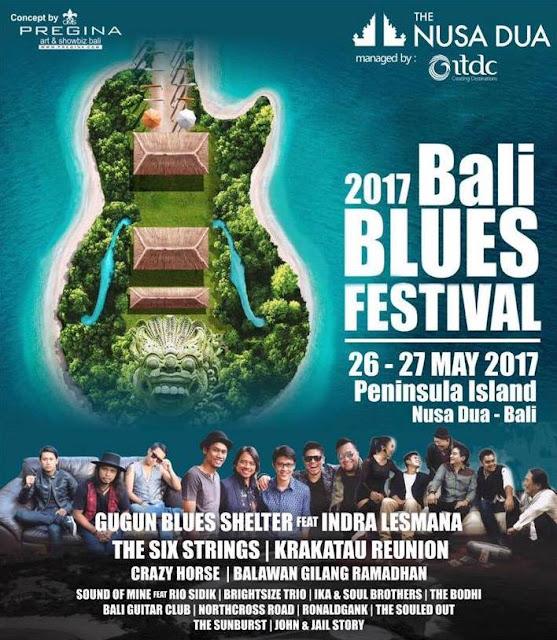 Bali Blues Festival 2017 - Lorong Musik