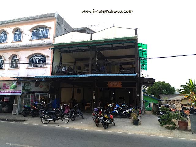 Tampak Dari Jalan Waroeng Serayu