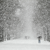 Nagy pelyhekben hullott a hó a Dunántúlon