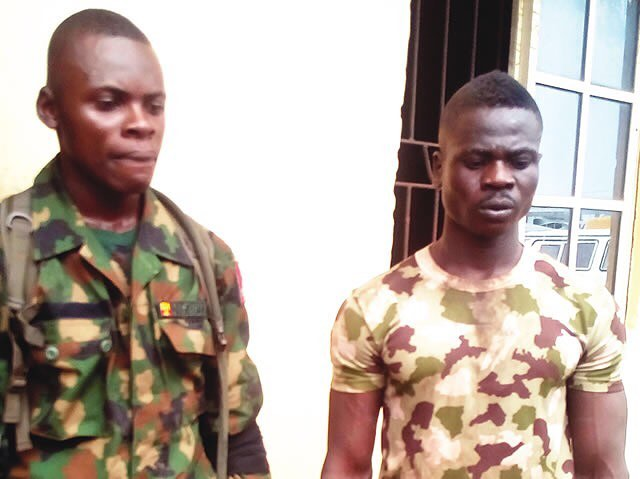 Soldier stabs motorcyclist to death, for shunning him in Ogun State