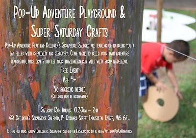 Super Saturday Crafts - happy playday!