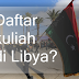 Daftar Kuliah di Libya?