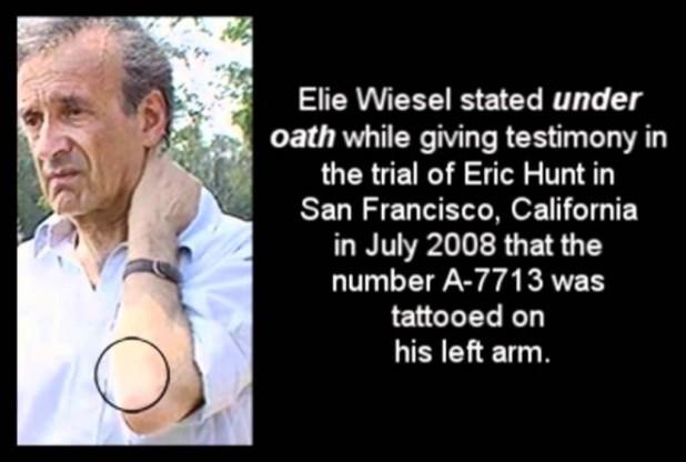 Holocaust Number Tattoo A 7713