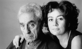 Michelangelo Antonioni and Enrica Fico
