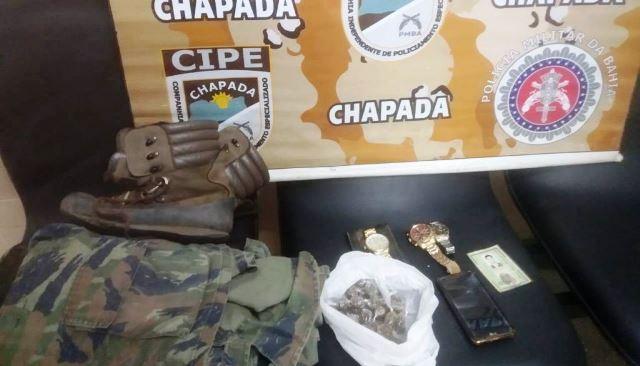 Ex-Vereador de Abaíra é preso por tráfico de drogas na zona rural de Mucugê