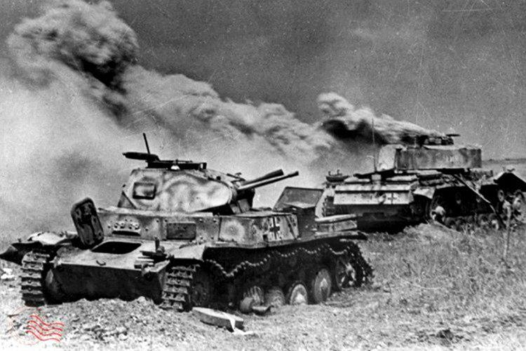 Almanlar çok fazla tank kaybetmesine rağmen Ruslar karşısında ilerleme kaydettiler.