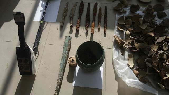 Albania stops smugglers of 230 ancient Apollonia artefacts