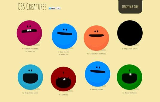 20+ Pure CSS3 Tutorials and Examples to get you started
