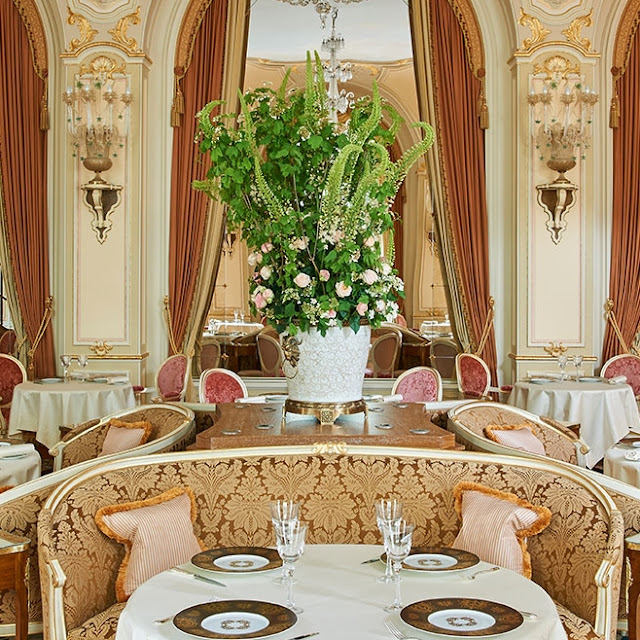 The Ritz Paris Hotel on Place Vendôme, Paris
