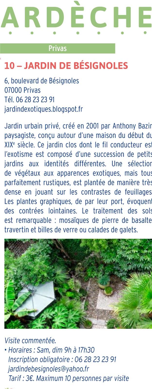 Jardin de b signoles rendez vous aux jardins 2016 for Rendez vous au jardin 2016