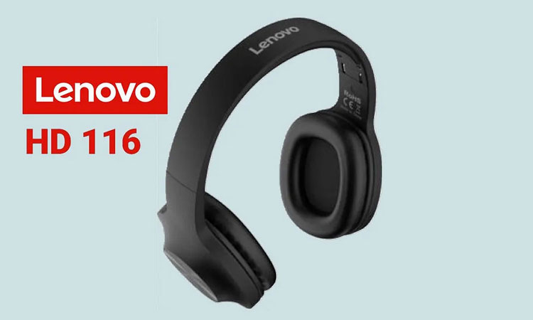 Lenovo HD 116 Wireless Headphones, Lenovo HD 116 Features, Lenovo HD 116 Specifications, Lenovo HD 116 price in India