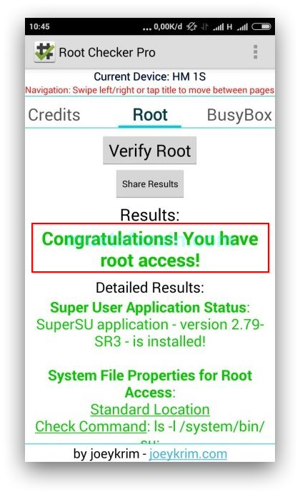 Root Checker Pro - Tips Mempertahankan Root Saat Update MIUI