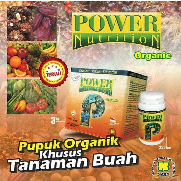 Power Nutrition, Pupuk Pelebat Buah