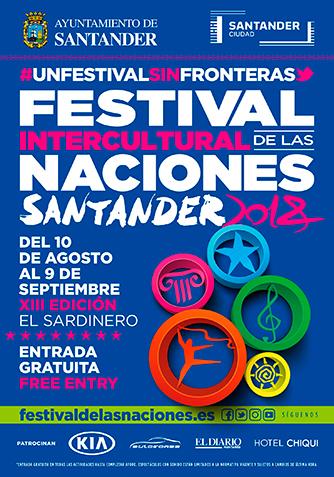 Festival Intercultural de las Naciones en Santander 2018