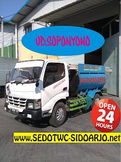 Sedot WC Waru Sidoarjo, 082240953999