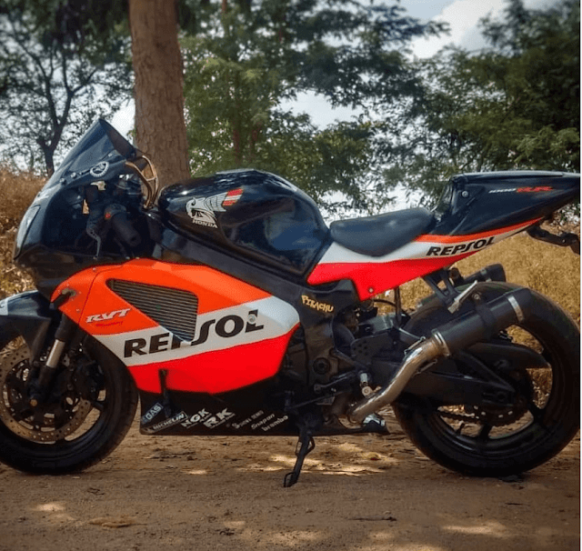Honda VTR1000SP1 R51 by Prodigy Customs Bengaluru