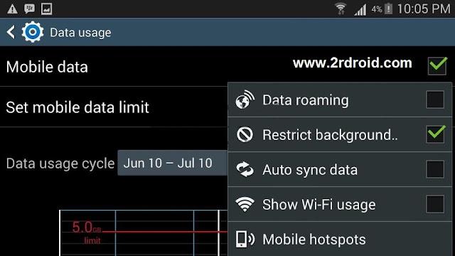 طريقة تقليل إستهلاك الانترنت للموبايل