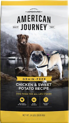 Who Manufactures American Journey Dog Food