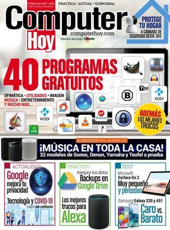 Computer Hoy Nº 568 - 50 programas gratuitos