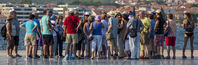 turistas gente turismo