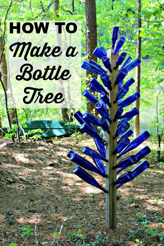 Mom S Garden Blue Bottle Tree Southern State Of Mind