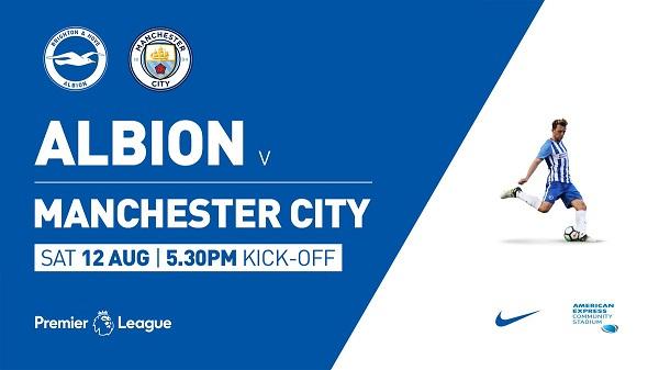 Brighton & Hove Albion vs Man City