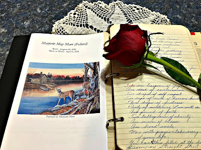 April 9, 2018 Honoring Aunt Marjorie