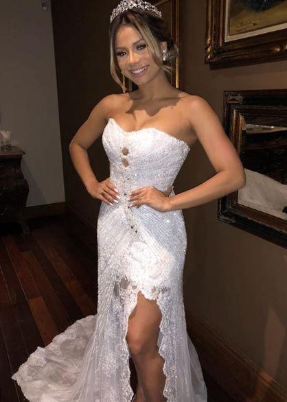 Lexa segundo vestido noiva