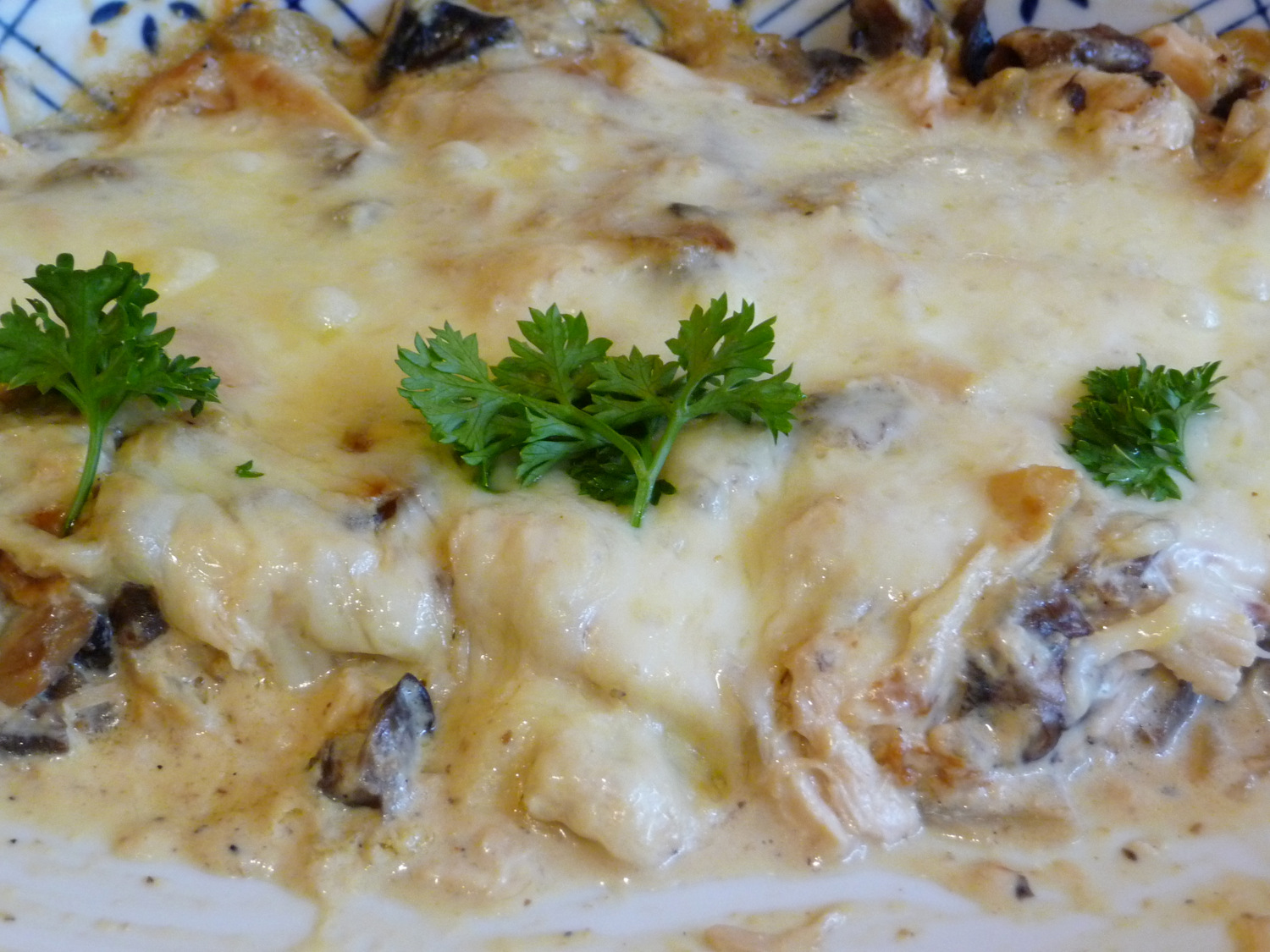 ... LOW-CARBING BY JENNIFER ELOFF: CHEESY CHICKEN AND MUSHROOM CASSEROLE