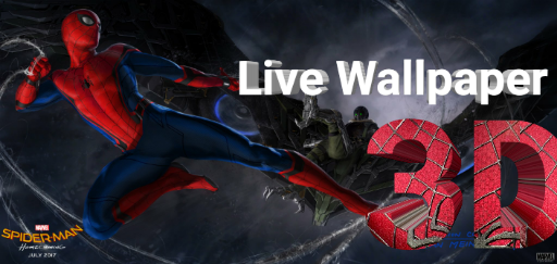 Spiderman Homecoming Live Wallpaper 2017 3D Free Download
