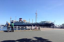Mengunjungi Yamashita Park Yokohama Jepang