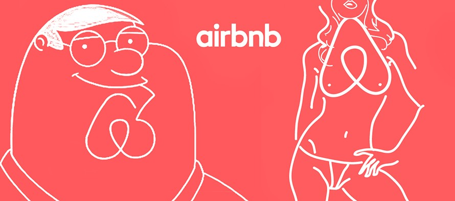 Airbnb new logo 2014 peter griffin